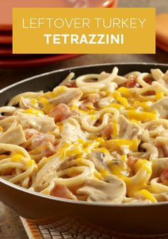 Your leftovers and your dollars go further when you make this Leftover Turkey Tetrazzini recipe. Try this tasty dish for dinner tonight!