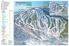 Classic new england black mountain jackson nh ski the east trail map for pats peak nh ski area publicscrutiny Images