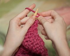 Knitting a Dog Sweater the Easy Way