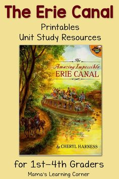 The Erie Canal Worksheets and Printables plus Unit Study Resources ...