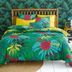 Housse de couette Carioca vous emmène sous le soleil des tropiques !