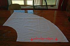 An easy wrap skirt