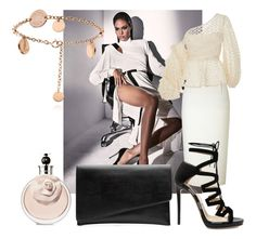 """""""Sexy"""" by sofiacalo ❤ liked on Polyvore featuring Roland Mouret, Johanna Ortiz, Jimmy Choo and Witchery"""