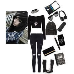 Back to emo school - Polyvore