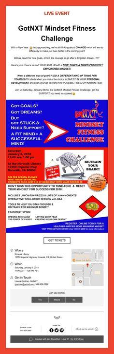 LIVEEVENT    GotNXT Mindset Fitness Challenge