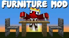 In total, MrCrayfish's Furniture Mod introduces more than 40 new furniture items to Minecraft, perfect for both indoor and outdoor decorating (Yes, there's even stuff for gardens, beaches, forests and more).