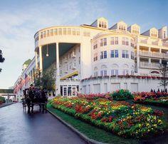 Grand Hotel on Mackinaw Island, Michigan