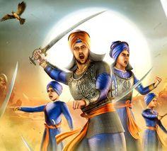 Chaar Sahibzaade Winning Hearts All Over Zorawar Singh, Sikhism Religion, Sikh Quotes, Gurbani Quotes, Baba Deep Singh Ji, Guru Nanak Wallpaper, Romantic Love Pictures, Guru Granth Sahib Quotes, Punjabi Culture