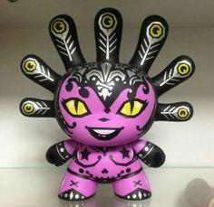 Kidrobot Dunny 8inch Madam Mayhem by Kronk Rare Limited F/S #Kidrobot