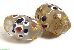 2 Clear French Ambassador Venetian Trade Beads Loose - $ 185   eBay