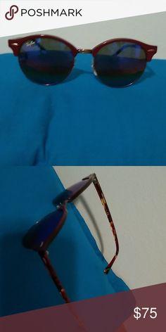 01638ecde4 Rayban Clubround Mineral Flash Sunglasses Very fun pair of sunglasses Ray- Ban Accessories Sunglasses