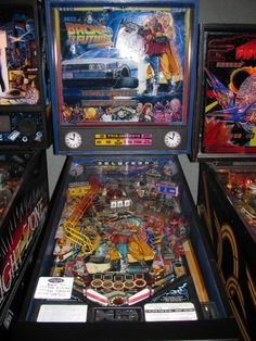 BTTF pinball machine - for Justin and me! :)