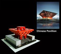 O pavilhão, fica em Xangai/China, conhecido como o Oriental Crown, foi o maior pavilhão em Expo Xangai e o maior exposição na história da Expo Mundial. O pavilhão apresentou civilização e modernas realizações da China pela combinação de elementos tradicionais e modernos em sua arquitetura, paisagismo e exposições. Após o final da Expo 2010, o edifício foi convertido em um museu.  Em 1 de Outubro de 2012, foi reaberto como o Museu de Arte da China, o maior museu de arte na Ásia.  #AmoLego