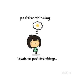 Being positive and clearing your head of negativity can help you focus on the good things in life and overcome the bad.: )