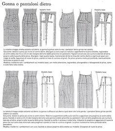 NEEDLE WORKS: Lezioni di cucito dal libro della nonna 17. PERFEZIONARE IL CARTAMODELLO.terza parte