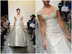 Pride and Prejudice style wedding dress | VIA #WEDDINGPINS.NET
