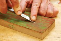 How To Sharpen Your Chisels | Woodworking Session