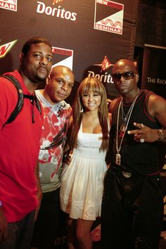 Naughty by Nature with Kat Deluna - NMS 2010 NYC - photo cred Jen Maler