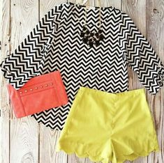 Colors & pattern :) (don't like scalloped shorts)
