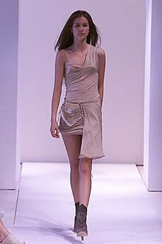 Callaghan Spring 2001 Ready-to-Wear Collection Photos - Vogue Peplum Dress, Ready To Wear, Fashion Show, Nicolas Ghesquiere, Runway, Vogue, Formal Dresses, Spring, Model
