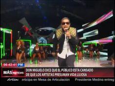 Don Miguelo Dice Que El Público Está Cansado De Que Los Artistas Presuman Vida Lujosa #Video