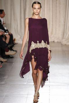 Marchesa Spring 2013 Ready-to-Wear Fashion Show - Cara Delevingne