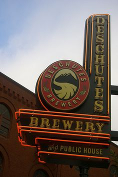 Deschutes Brewery and Public House - Portland, Oregon My most Fav Brewery