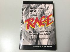 READING, WRITING AND RAGE, DOROTHY FINK UNGERLEIDER, 1ST EDITION, SIGNED, NEW