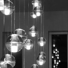 61 best indoor lights pendant lamp images on pinterest pendant led crystal glass ball pendant lamp meteor rain ball ceiling light meteoric shower stair light bocci aloadofball Images