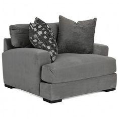 JONATHAN LOUIS CARLIN BELLA GRANITE CHAIR - CHAIR LIVING ROOM SEATING   Gallery Furniture - Houston, TX