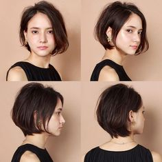42 Stylish Office Hairstyles for Girl Bosses Office Hairstyles, Short Bob Hairstyles, Girl Hairstyles, Girl Short Hair, Short Hair Cuts, Shot Hair Styles, Long Hair Styles, Bubble Ponytail, Long Hair Tips