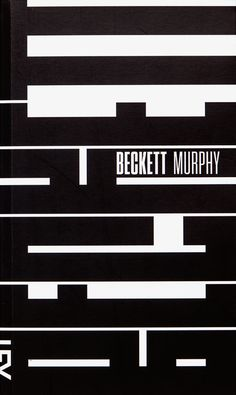 Becket/Murphy, book cover submitted by Cosac Naify and designed by Paulo André Chagas (2013) –Type OnlyUnit Editions