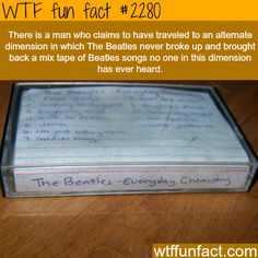 The Beatles - Everyday chemistry -WTF fun facts