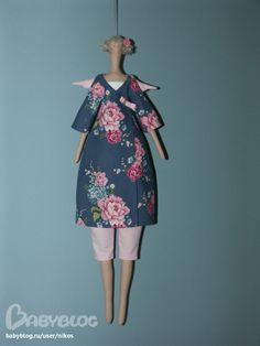 "Мастер-класс кукла ""Blue Angel"" - Мастер-классы - Все для шитья кукол Тильда, ткани, пэчворк - Москва, Химки."