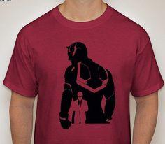 Daredevil: Netflix Series 2 Silhouette Shirt by DJsDecals on Etsy