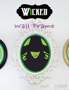 Halloween Craft: Ikea Frame: Wicked Wall Art