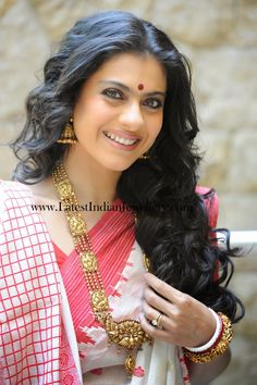 bollywood kajol traditional gold jewellery
