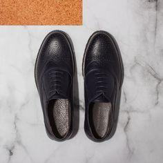 Must-have этой осени | Комфортные броги - идеальная пара для стильного повседневного образа.  Туфли броги кожаные - 4 599 ₽   #mfilive #NewArrivals #AW16