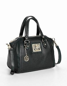 Heritage Vintage Leather Top Zip Shopper Bag | Lord and Taylor