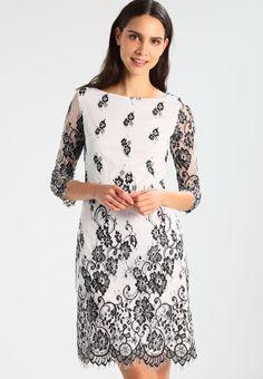 Wallis Vestido de cóctel - black/white - Zalando.es