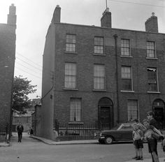 Summer Place, Dublin 1 taken about 40 years ago Dublin Street, Dublin City, Old Pictures, Old Photos, Dublin Ireland, Past, Street View, History, Places