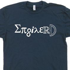 Engineer T Shirt Enginerd T Shirt Career Tee Shirt by Shirtmandude