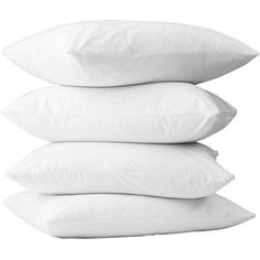 Bargoose Home Textiles Bargoose Poly/Cotton Zippered Pillow... (8,160 KRW) ❤ liked on Polyvore featuring home, bed & bath, bedding, bed pillows, pillows, fillers, queen bed pillows, king bed pillows and king size bed pillows