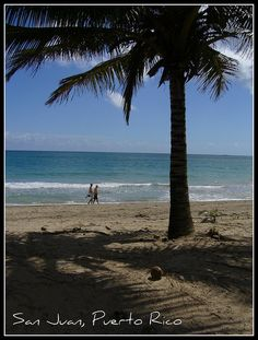 Beaches in Puerto Rico.  A great get away, so much to do on one island.