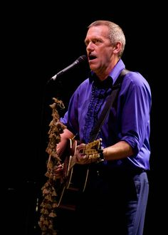 Hugh Laurie - played in Brighton - awesome!