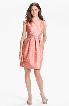 Finally, a cute dress that's actually affordable. This Eliza J Polka Dot Satin Tulip Dress available at #Nordstrom, but I'd buy it in the khaki. Perfectly neutral, but you will stand out in a crowd!