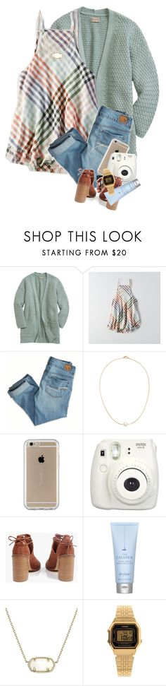 """I got the Rimmel contour 😆"" by mikailahmorgan1 ❤ liked on Polyvore featuring American Eagle Outfitters, Sole Society, Speck, Fujifilm, Boohoo, Drybar, Kendra Scott and Casio"