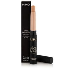 KIKO MAKE UP MILANO: Skin Evolution Concealer - caneta corretora de cobertura elevada