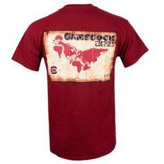 South Carolina Gamecocks Empire T-Shirt #gamecocks #carolina #sc #southcarolina #carolinagamecocks