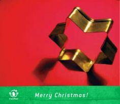 Merry Christmas Star | @FairMail - Fair Trade Cards - DR311-E